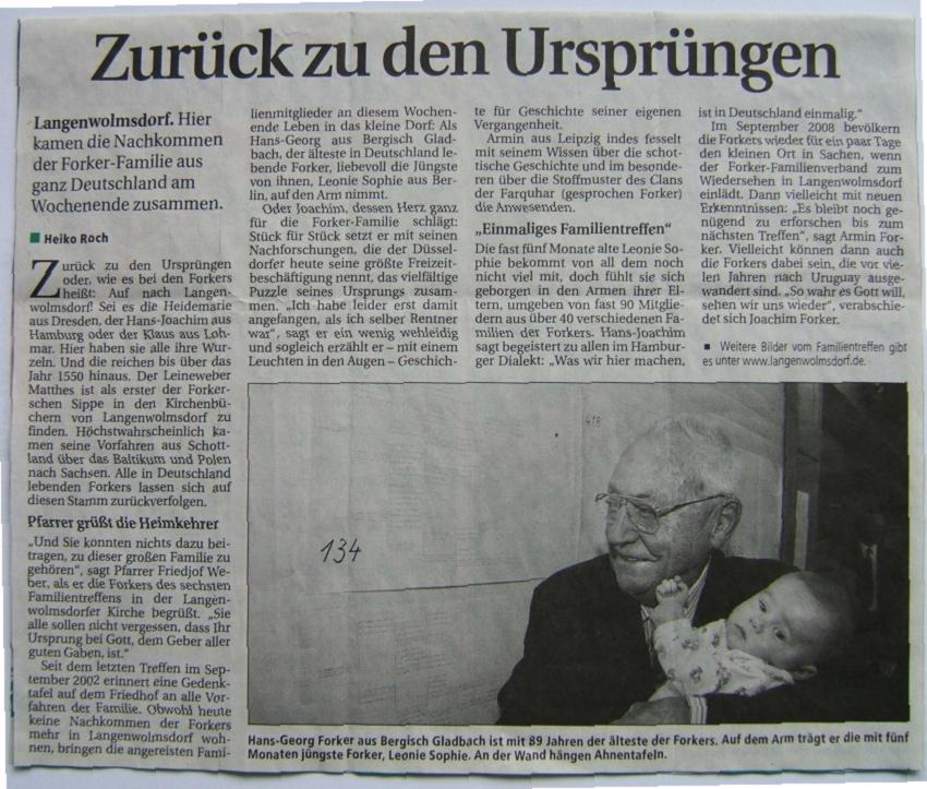 SZ-Artikel Treffen 2005