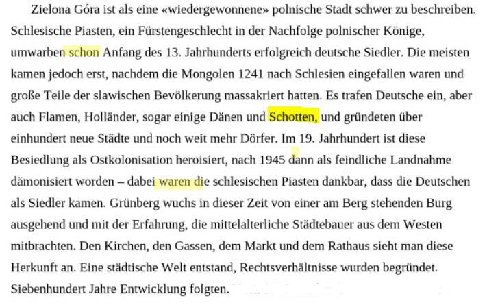 Grünberg und Schotten